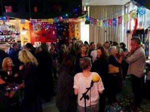 Leanne Babcock open me book launch crowd