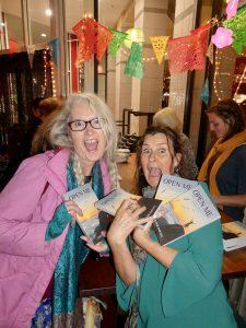 Leanne Babcock open me book launch fans